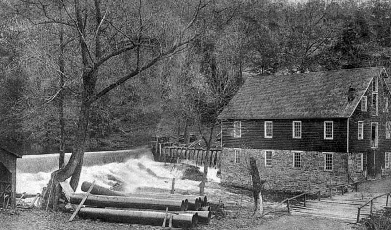 Pipher's Mill and Silver Lake Falls, North Water Gap.