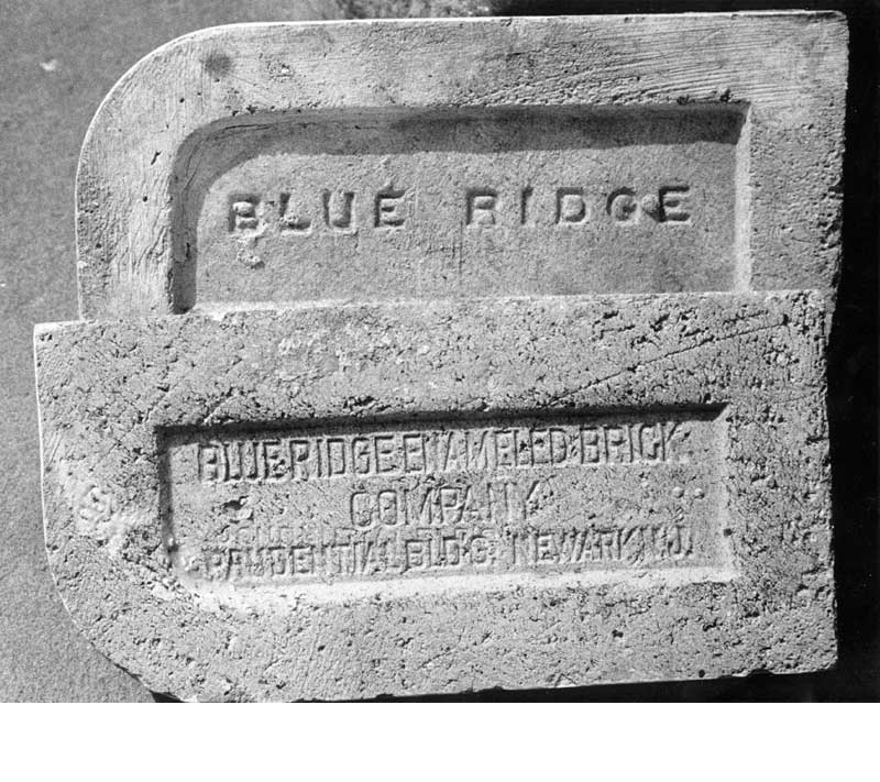 "The Blue Ridge Enamel Brick Company was located in Saylorsburg, where there was a good vein of clay. It was incorporated in April 1894 as the Penn Buff Brick and Tile Co. The company started making ""high grade, hard-glaze, mud-made enameled brick"" in 1898, and the name was changed in 1901. Blue Ridge owned several structures as well as 200-300 acres of land used for digging clay. The company also owned the Lake House at Saylorsburg. In 1901, 150 men and boys were employed at the plant."