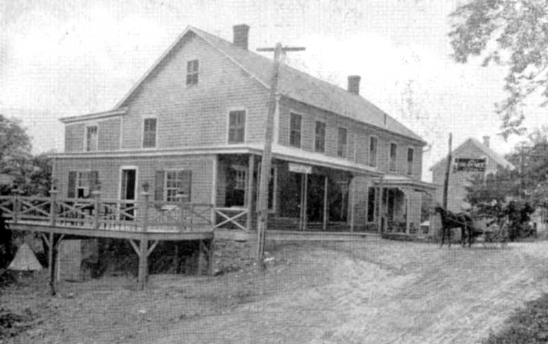 Shawnee Store, circa 1908. The Shawnee General Store, established circa 1859 on River Road in Shawnee on Delaware, remains in business today.