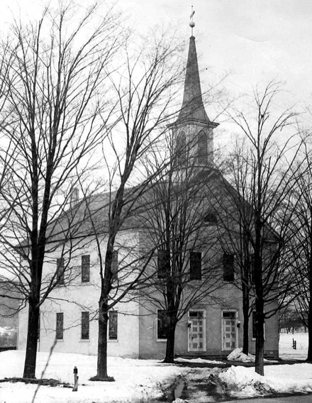 The Christ Church in Hamilton Township was organized in 1768. Both the Lutheran and Reformed congregations met there.