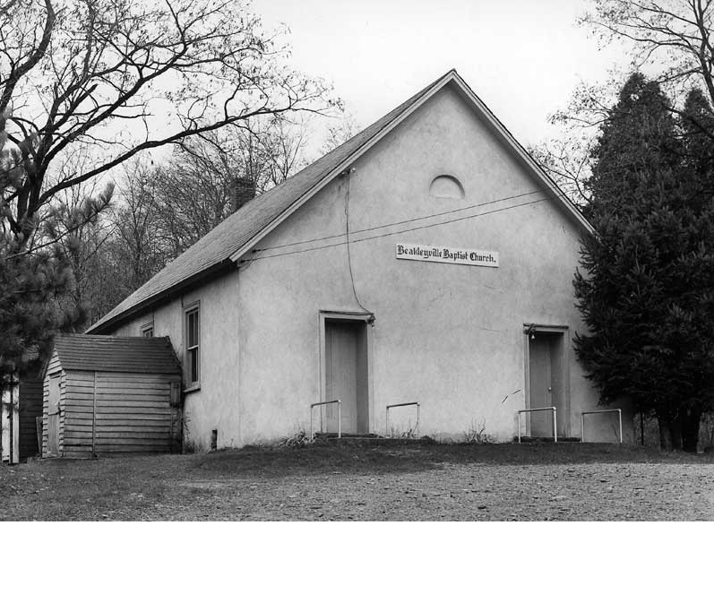 The Beakleyville Baptist Church was established in the summer of 1843. A series of revival meetings conducted by Rev. Joseph Currin, a Baptist missionary, resulted in 43 converts to the Baptist faith. This church was built at Eagle Valley Corners in East Stroudsburg to house the new congregation.