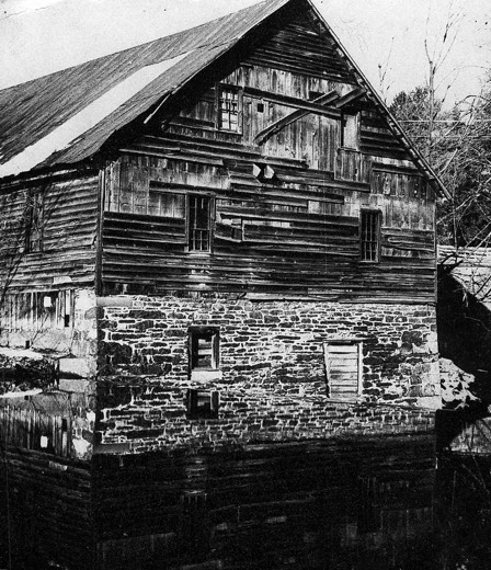 Brinker's Mill, also known as the Old Mill, in Sciota. It was believed to be a resting place for Gen. John Sullivan and his troops in 1779 on their march northward against the Iroquois Indians.