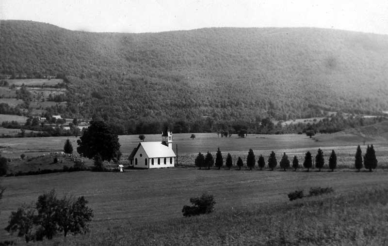 Although the Cherry Valley Methodist Church was not built until 1843, Methodist prayer meetings had been held in the area as early as 1830.