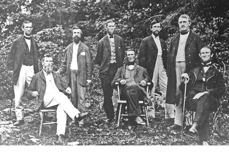 Eight Brodhead brothers were descendants of Gen. Daniel Brodhead, early settler of East Stroudsburg, which was originally called Dansbury.