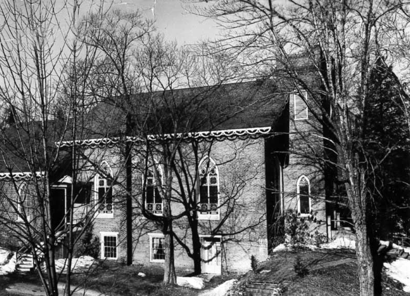 The Presbyterian Church of the Mountain in Delaware Water Gap was organized in 1854. It was established to serve not only the residents, but also the tourists who visited the area.