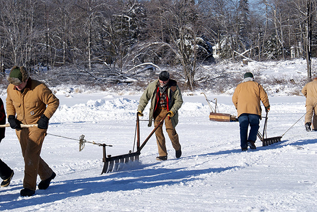 Tobyhanna Ice Harvest