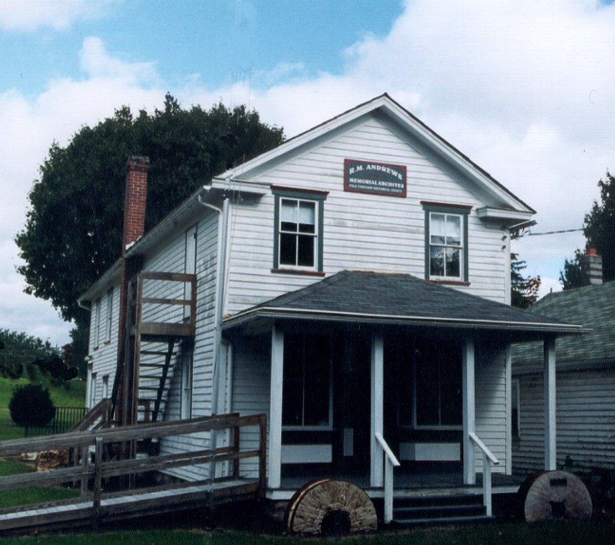 2006 | R.M. Andrews Memorial Building, Polk Twp (1888)