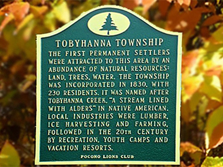 2018 | Historical Roadside Markers of Tobyhanna Township (2017)