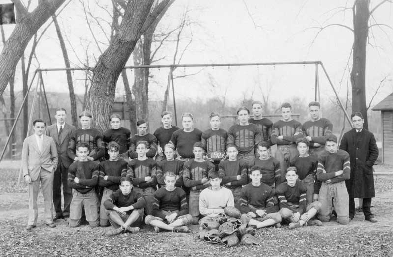 Stroudsburg High School football team, 1928.