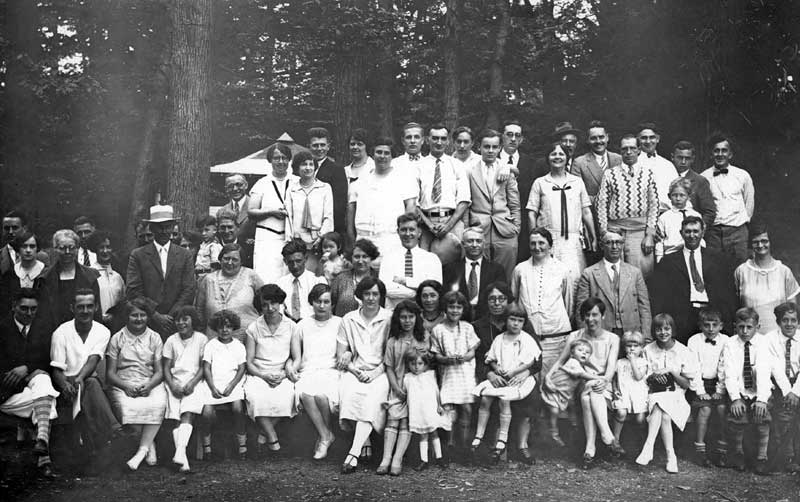 Patterson Kelly employee picnic at Saylorsburg Lake, Aug. 20, 1927.