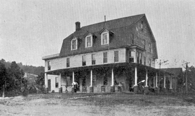 The Forest Inn, Bartonsville, in an early view.