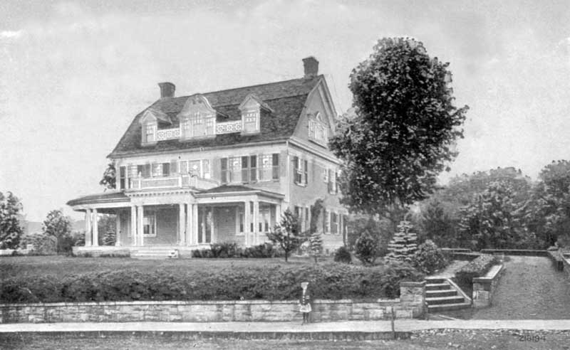 A. Mitchell Palmer residence on Thomas Street in Stroudsburg.