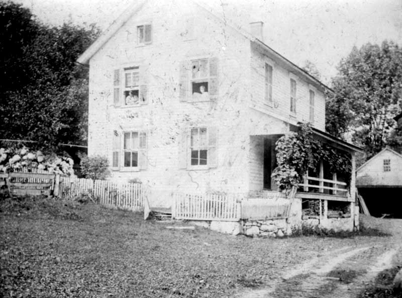 Peter Eilenberger home in Shawnee, circa 1901.