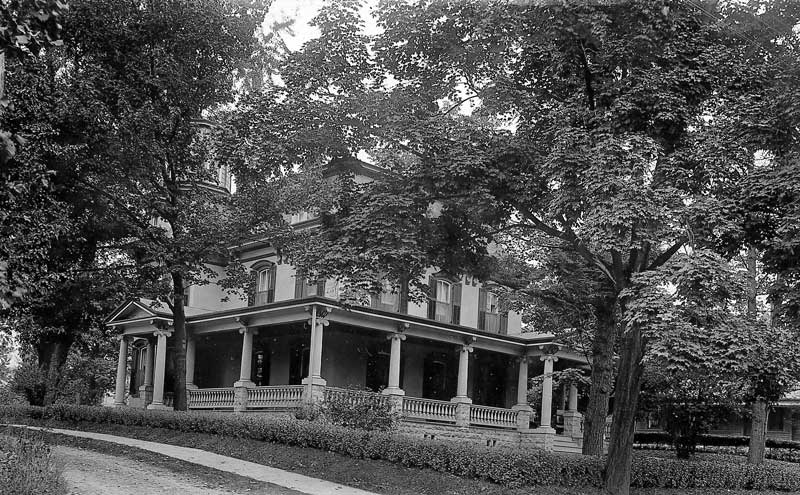 The Kintner home on Broad Street in Stroudsburg.