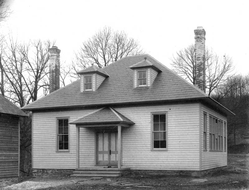 A new two-room building in Scotrun, dedicated Feb. 13, 1915.
