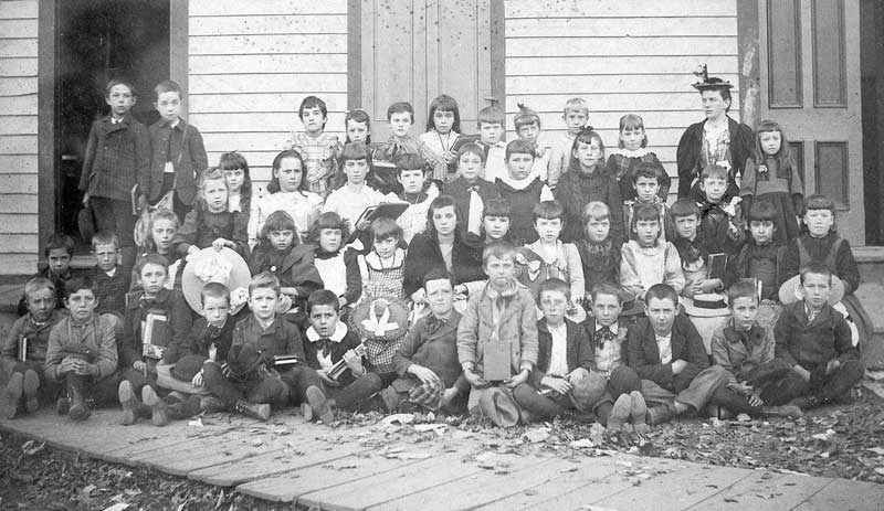 East Stroudsburg Public School first grade, 1892.